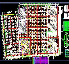 某购物广场框架结构地下车库结构施工图
