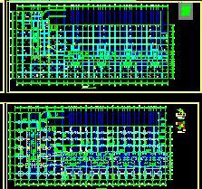 带核六级人防地下室结构施工图纸
