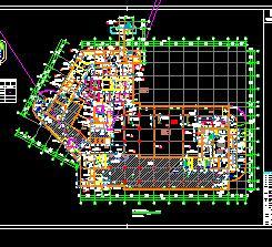 某医院地下室建筑结构施工图纸