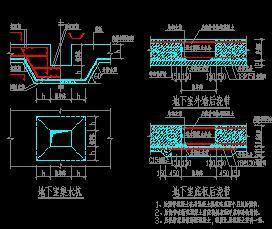 地下室结构大样图