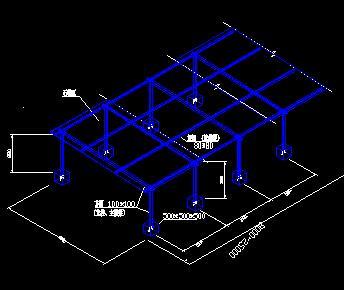 钢筋棚及木工棚构造详图