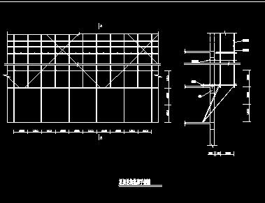 框架结构脚手架构造详图