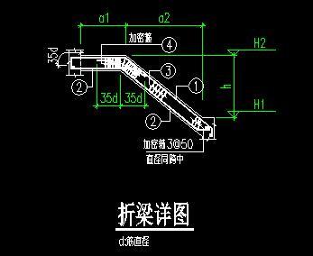 结构施工节点图及大样图