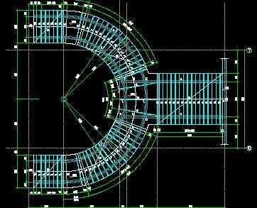 弧形和直跑钢楼梯做法全免费下载 - 钢结构 - 土木