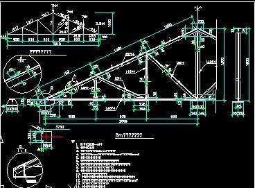 钢结构节点设计cad精选图集