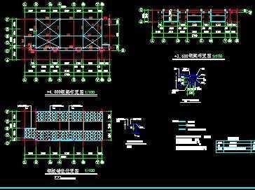售楼部钢结构施工图