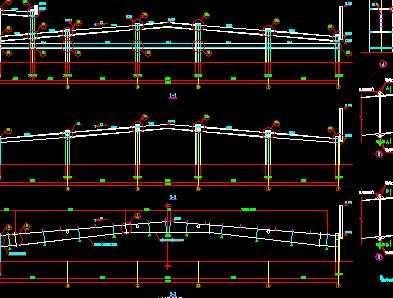 某钢框架结构设计图
