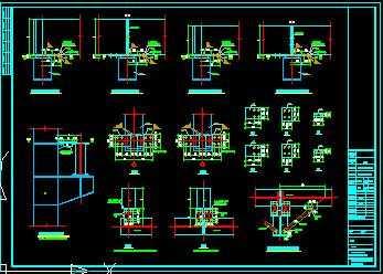 某吊车梁连接节点构造详图免费下载 - 钢结构 - 土木