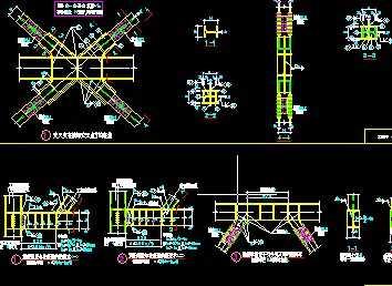 钢结构节点图纸