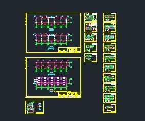 某光伏项目太阳能支架设计图