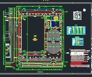 全封闭式干煤棚钢结构施工图