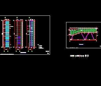 某办公楼钢结构连廊施工图