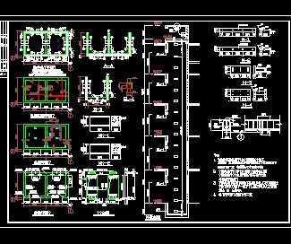 某电梯井道工程结构施工图免费下载 - 钢结构 - 土木