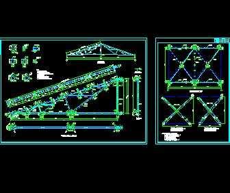 钢结构屋架结构详图