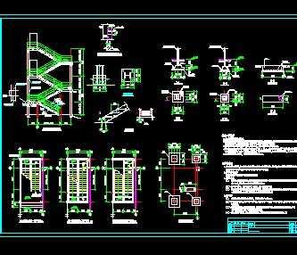 钢楼梯结构施工图
