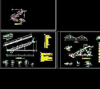 钢木屋架详图免费下载 - 钢结构 - 土木工程网
