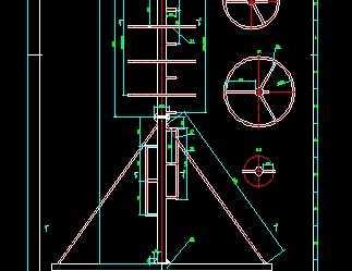 不锈钢抱杆通信塔设计图免费下载 - 钢结构 - 土木