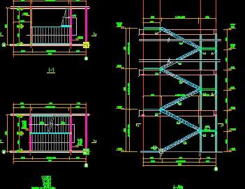 钢结构图纸半圆v图纸图纸免费下载上机械楼梯多种意思是什的?图片