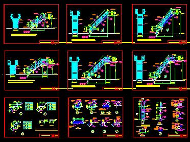 钢梯和平台栏杆设计图