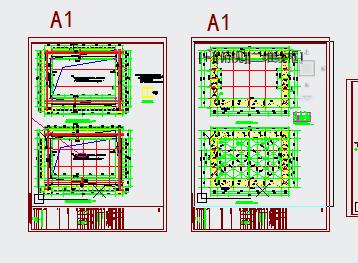 某钢结构连廊设计图