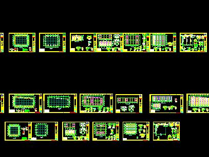 堆棚结构设计图纸