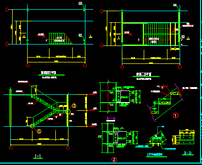 两层单跨钢结构门式刚架厂房设计图纸