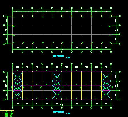 钢结构农贸市场施工图