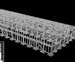 某加工厂锅炉车间结构设计图纸