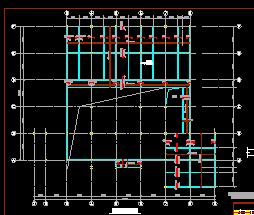 某开发区售楼处钢结构设计图纸