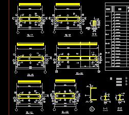 某古建部研究室结构设计图纸