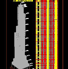 95层大厦楼结构设计图纸