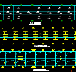 某聚酯厂设备钢平台设计图纸