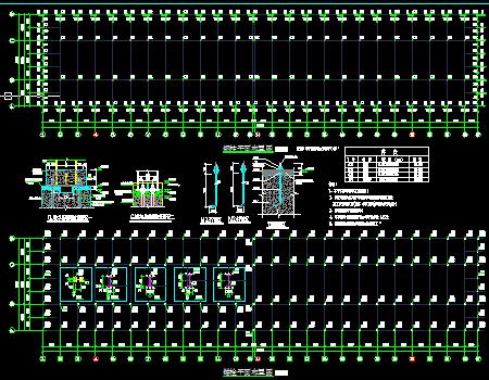 钱柜娱乐厂房建筑结构施工图