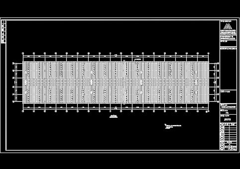 厂房结构设计图纸