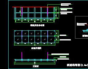钢结构雨棚结构设计图纸