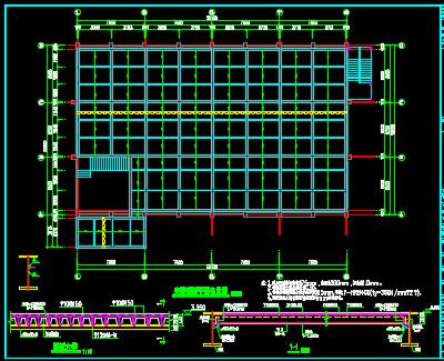 夹层钢结构施工图纸