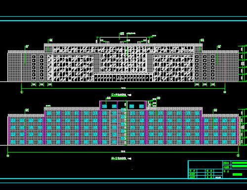 10层办公楼钢结构施工图纸