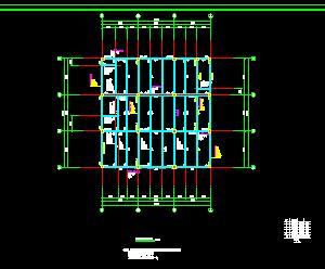 框架结构厂房结构施工图纸