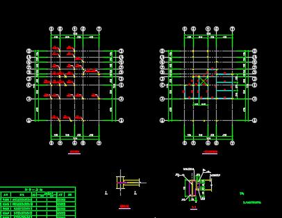 某钢结构别墅设计详图