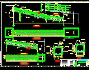 钢结构通廊施工图纸
