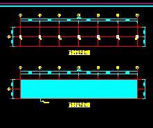 雨棚结构设计图纸