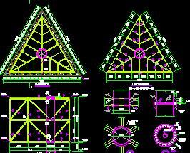 600平米LED广告显示屏钢结构施工图