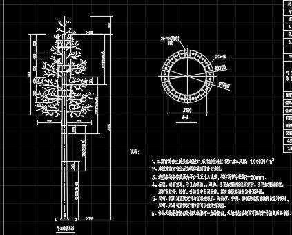 30米仿生树设计详图