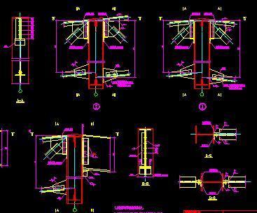 钢结构屋盖系统节点详图合集