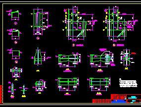 钢结构柱子系统节点详图