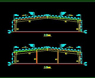 厂房钢结构施工图纸