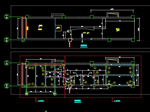 消防楼梯及钢平台施工图纸