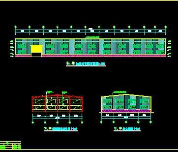 23米跨门式刚架厂房钢结构施工图纸