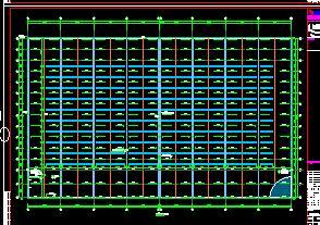 某物流仓储厂房钢结构施工图纸