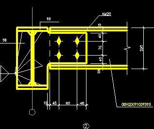 钢结构梁连接节点详图